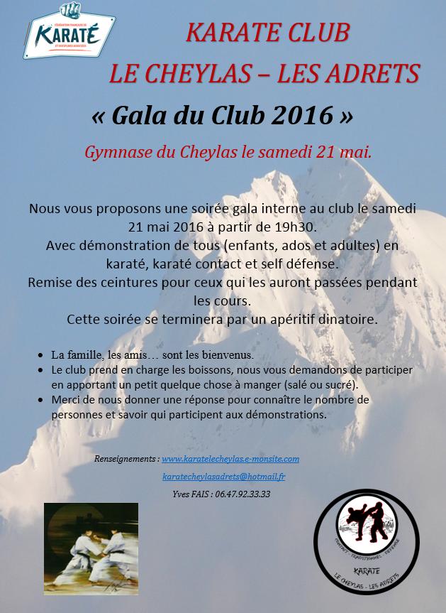 Gala du club 2016