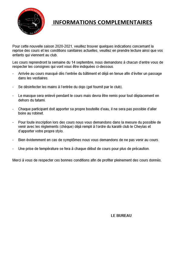 Informations complementaires 2020 2021